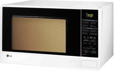 Микроволновая печь LG MC7847BS  - вполоборота