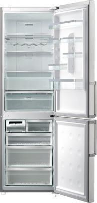Холодильник с морозильником Samsung RL58GRERS - общий вид