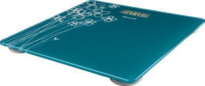 Напольные весы электронные Maxwell MW-2657 (голубой) - Общий вид