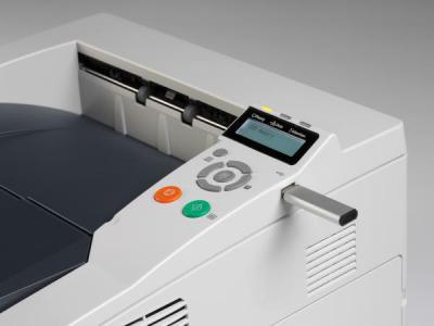 Принтер Kyocera Mita FS-1370DN - сбоку