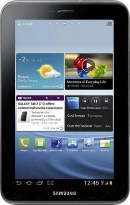 Планшет Samsung Galaxy Tab 2 7.0 8GB Titanium Silver (GT-P3110) - общий вид