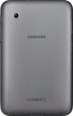 Планшет Samsung Galaxy Tab 2 7.0 8GB Titanium Silver (GT-P3110) - вид сзади