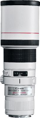 Объектив Canon EF 400mm f/5.6L USM - общий вид
