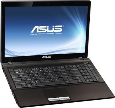 Ноутбук Asus K53TK (90NBNC418W25126013AC) - Вид спереди