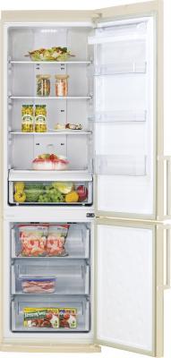 Холодильник с морозильником Samsung RL40ZGVB1 - общий вид