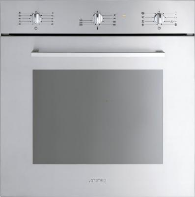 Электрический духовой шкаф Smeg SC468X-8 - общий вид