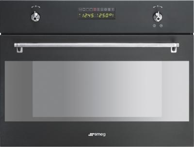 Электрический духовой шкаф Smeg S45MCA - вид спереди