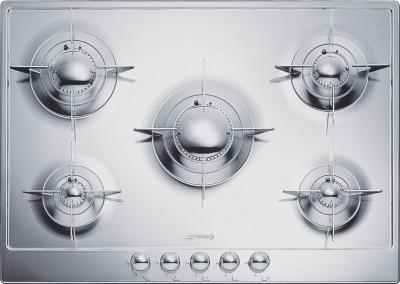 Газовая варочная панель Smeg P705 - Общий вид