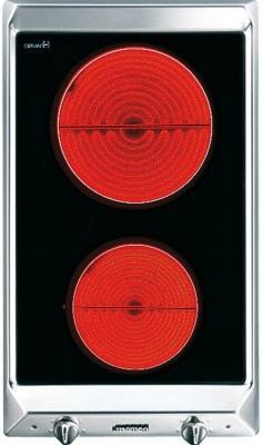 Электрическая варочная панель Smeg SEH530X1 - вид спереди