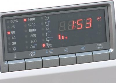 Стиральная машина Smeg WDF147S - табло