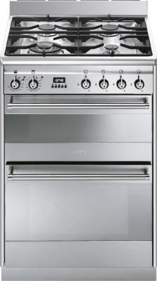 Кухонная плита Smeg SUK62MX8  - общий вид