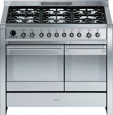 Кухонная плита Smeg A2-8 - вид спереди