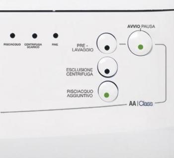 Стиральная машина Smeg SWM834 - панель
