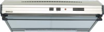 Вытяжка плоская Beko CFB 6433 X - общий вид