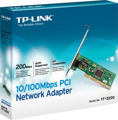 Сетевой адаптер TP-Link TF-3200 - коробка