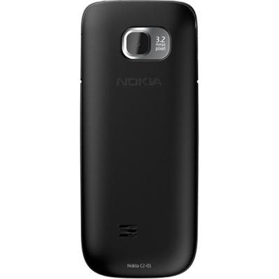 Мобильный телефон Nokia C2-01 Black - сзади
