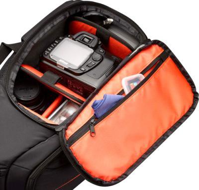 Рюкзак для фотоаппарата Case Logic DCB-308 (Black) - внутренний вид