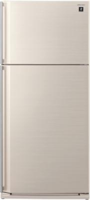 Холодильник с морозильником Sharp SJ-SC680VBE - общий вид