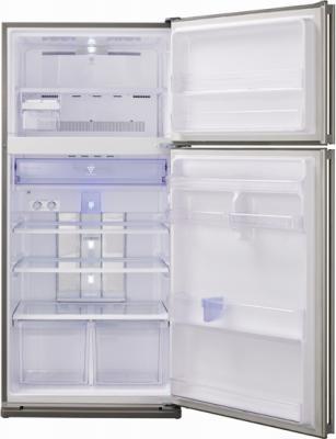 Холодильник с морозильником Sharp SJ-SC680VSL - общий вид