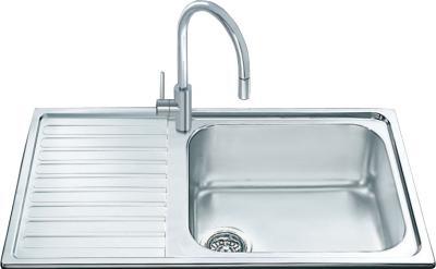 Мойка кухонная Smeg LGM861S - общий вид