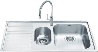 Мойка кухонная Smeg LL102S - общий вид
