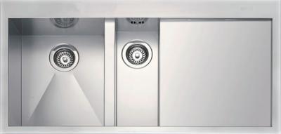 Мойка кухонная Smeg LQ100D - вид сверху