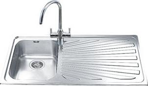 Мойка кухонная Smeg SP101D - общий вид