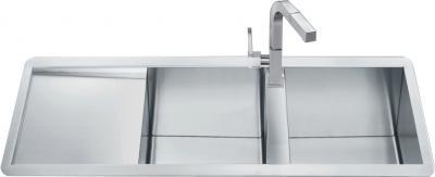 Мойка кухонная Smeg LQ116SF - общий вид