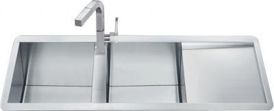 Мойка кухонная Smeg LQ116DF - общий вид