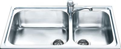 Мойка кухонная Smeg AG862 - общий вид