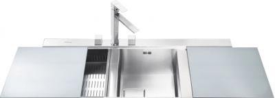 Мойка кухонная Smeg LQVS116D - общий вид