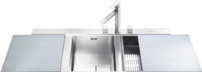 Мойка кухонная Smeg LQVS116S - общий вид