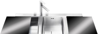 Мойка кухонная Smeg LQVN116D - общий вид
