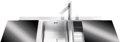 Мойка кухонная Smeg LQVN116S - общий вид