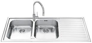 Мойка кухонная Smeg LL116D - общий вид