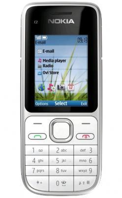 Мобильный телефон Nokia C2-01 Warm Silver - спереди