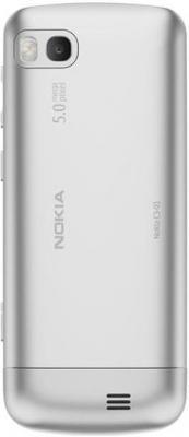 Мобильный телефон Nokia C2-01 Warm Silver - сзади
