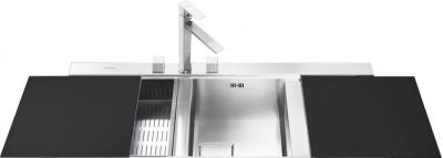 Мойка кухонная Smeg LQVA116D - общий вид