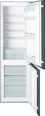 Холодильник с морозильником Smeg CR321AP - Общий вид