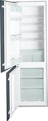 Холодильник с морозильником Smeg CR321ASX - Общий вид