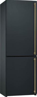 Холодильник с морозильником Smeg FA860AS - общий вид