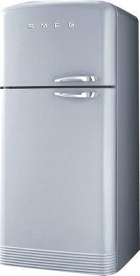 Холодильник с морозильником Smeg FAB40XS - вид спереди