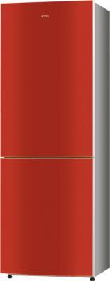 Холодильник с морозильником Smeg F32BCRS - Общий вид