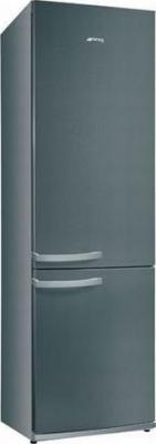 Холодильник с морозильником Smeg FC35APX - Вид спереди