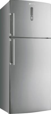 Холодильник с морозильником Smeg FD54PXNFE - вид спереди