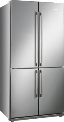 Холодильник с морозильником Smeg FQ60XP - Общий вид