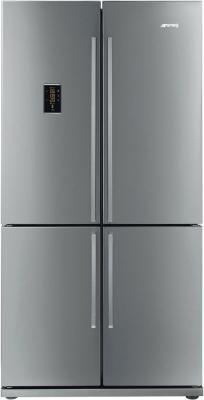Холодильник с морозильником Smeg FQ60XPE - вид спереди