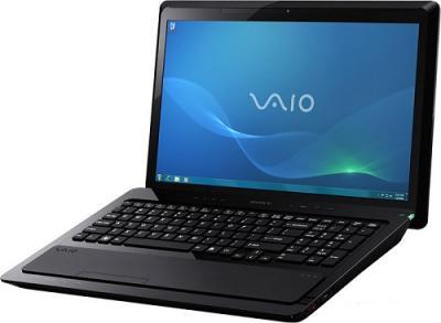 Ноутбук Sony VAIO VPCF23Z1R/BI - Вид спереди сбоку