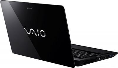Ноутбук Sony VAIO VPCF23Z1R/BI - Вид сзади сбоку 2