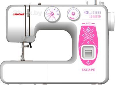 Швейная машина Janome V-12 - общий вид